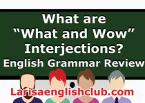 LEC What are What and Wow Interjections