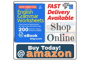 Amazon English grammar book