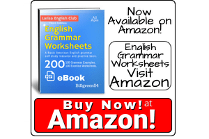 Amazon English Grammar PDF Worksheets