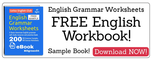 Free English grammar Workbook