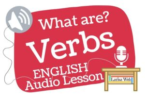 What is a Verb? Grammar Review all about verbs with Billgreen54. Online English lesson.