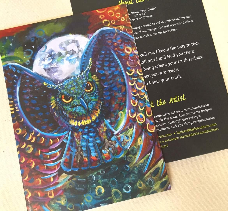 Soul Path Art Greeting Card Set Of 5 Larissa Davis Is The Soul