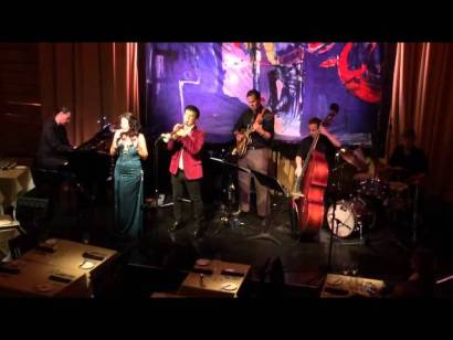 Larissa Lam and David Longoria at Vibrato