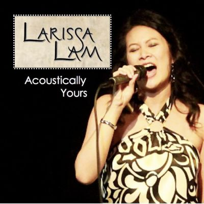 Larissa Lam Acoustically Yours Cover CD