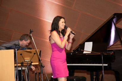 Larissa Lam Performs at Walt Disney Concert Hall