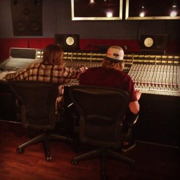 Recording at REC Studios with Yahtzel & L D R U