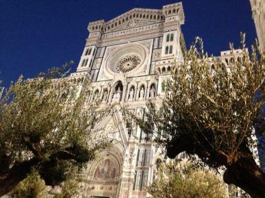 Il Duomo di Firenze tra gli Ulivi secolari per Florens 2012