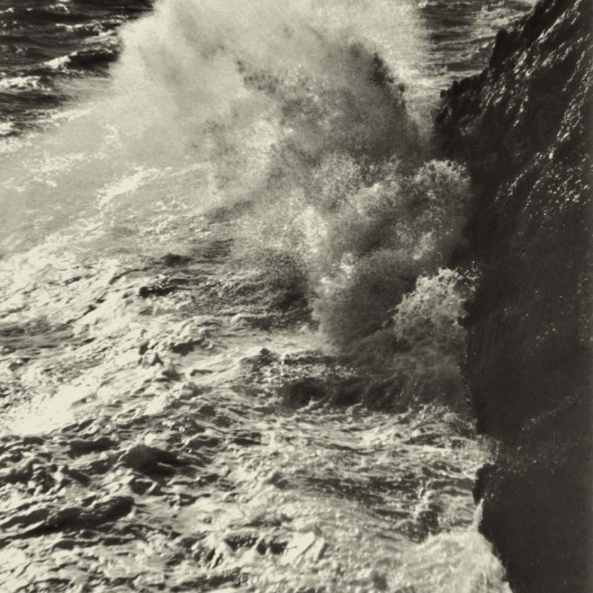 Mareggiata, Ansedonia, Grosseto, 1934.