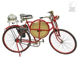 Bicletta del Pompiere, Pedalando nel Passato, Museo Galileo, Firenze