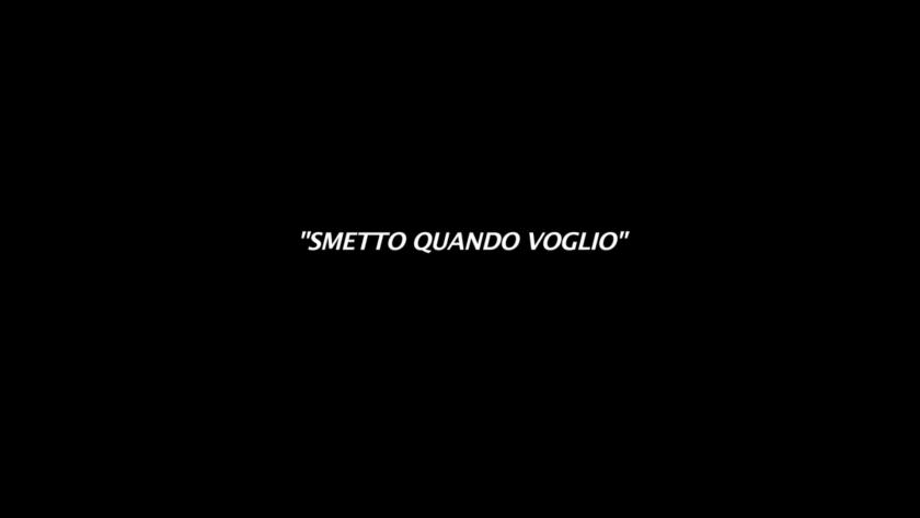 Smetto Quando voglio, Davies Zambotti, Video, 2016.