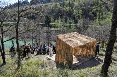 Installazione alla riserva privata san settimio, operazione arcevia