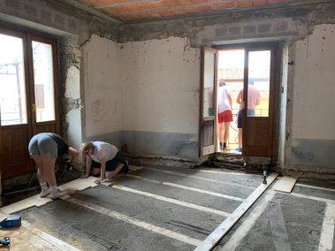 Costruzione della pavimentazione