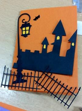 Snart är det Halloween! På Karins Döttrar hittar du korten! Foto: Margita Persson.