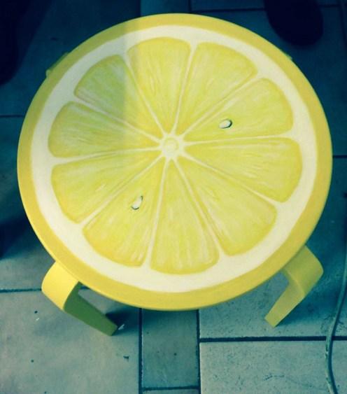 Fräsch citronpall från Refurn, Kajskjul 46. Foto: Parisa Moghadam