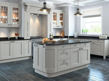 Rivington Bespoke Painted Kitchen In Calico