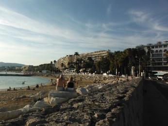 The Corniche at Cannes
