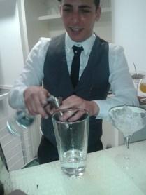Cocktail in preparazione