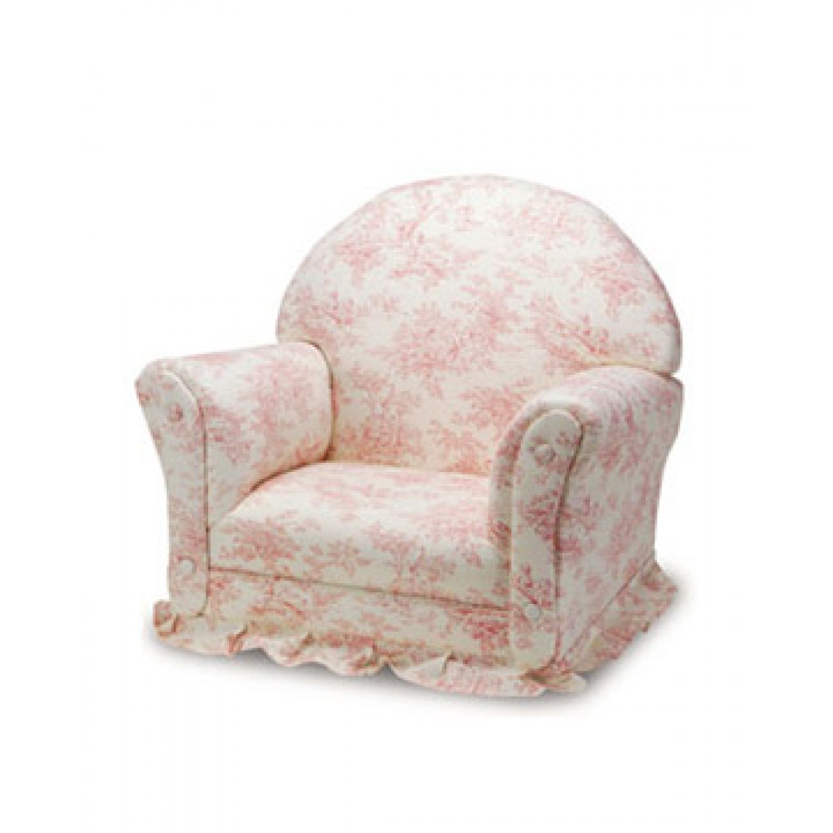 Toile Chair Kids Rocker 8 Pink Toile Premiere Deluxe