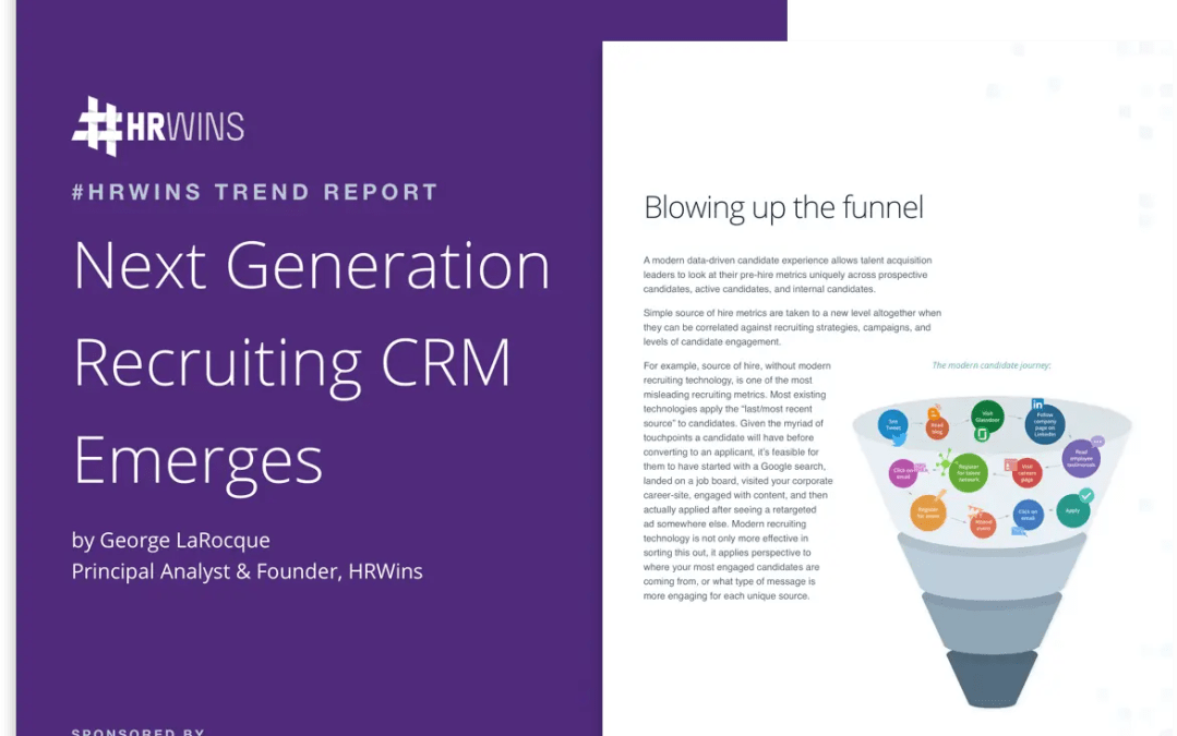 HRWins Report: Time to Blow Up The Recruiting Funnel