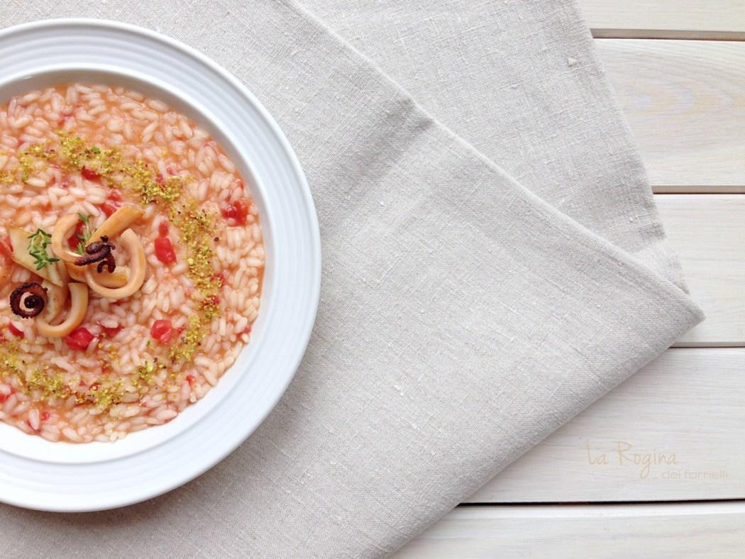 risotto-pomodoro-polpo-pistacchi