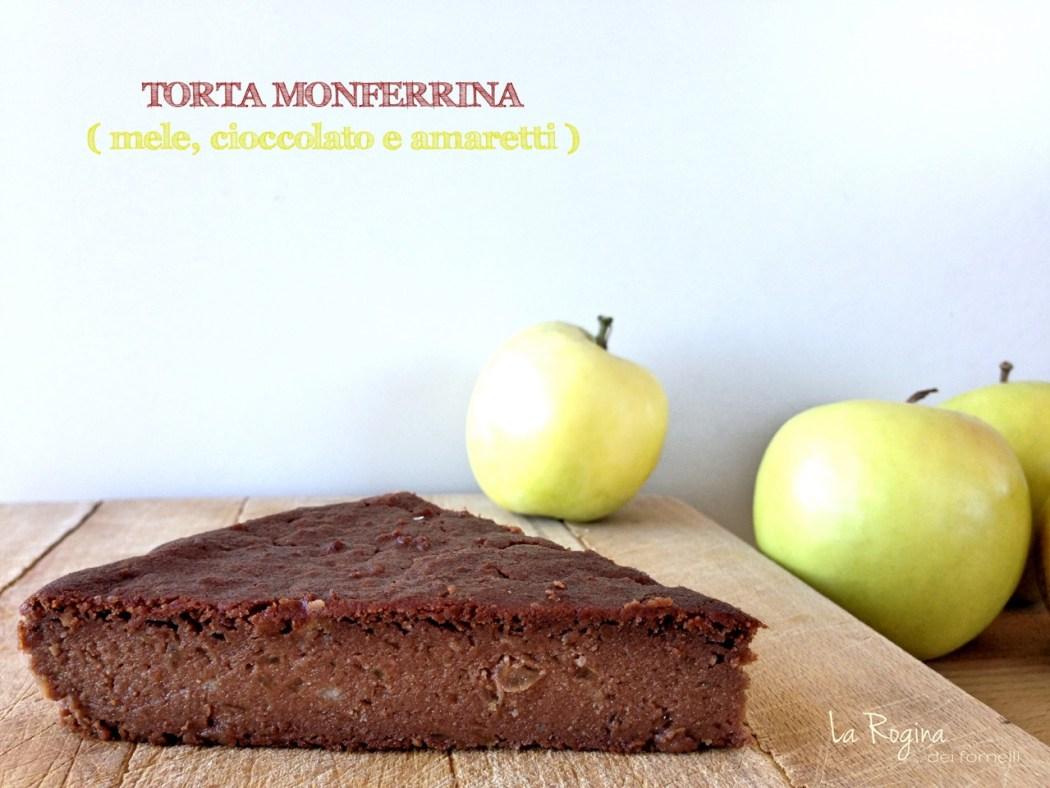 torta-monferrina-mele-cioccolato-amaretti