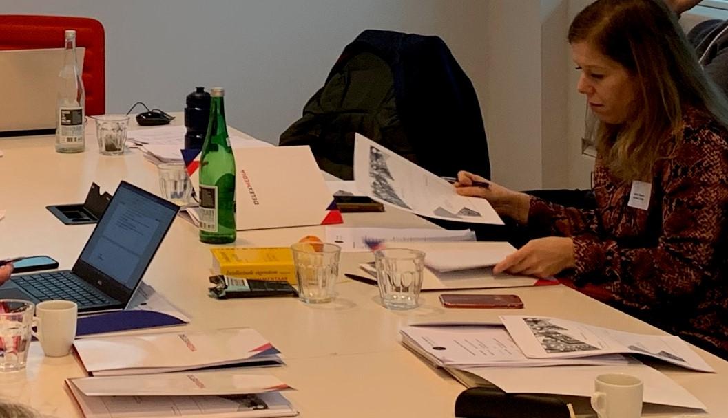 Deelnemer Anne-Fleur Filemon en hoofddocent Vivien Rorsch over de tweede opleidingsdag van de Mr. S.K. Martens Academie
