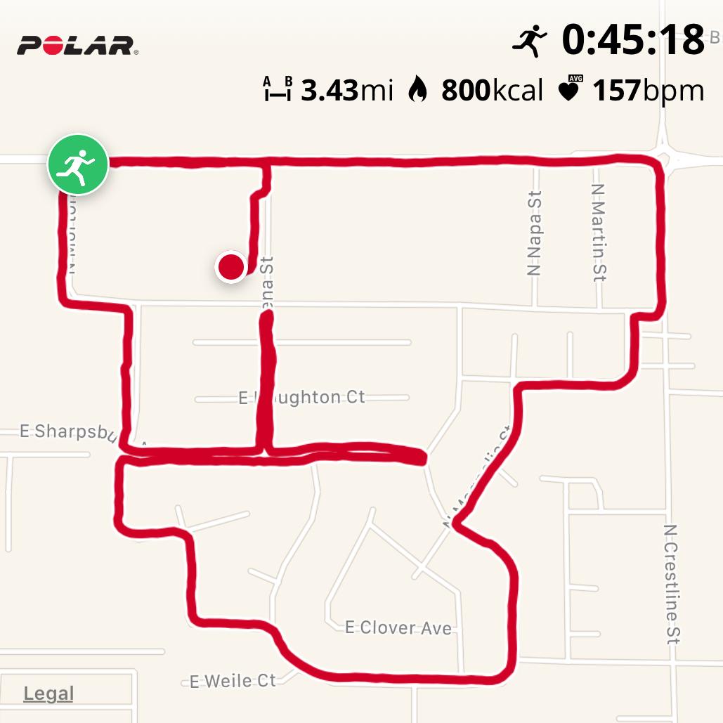 July 5th 5k Run