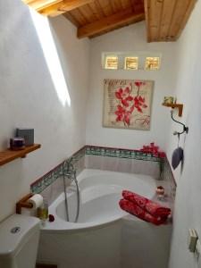 Ensuite bath at La Rosilla.
