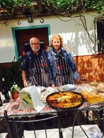 Paella for two, always plenty.