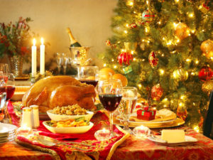 Christmas, eat, drink and be merry.