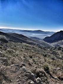 January mountain views.
