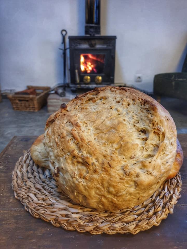 Fired bread