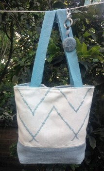 linen lunch bag