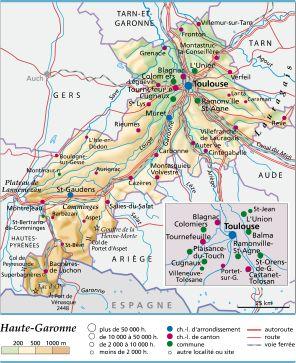 Haute Garonne Lieux D Intérêt : haute, garonne, lieux, intérêt, Haute-, Garonne, LAROUSSE