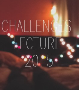 Challenges Lecture 2015