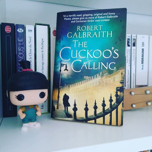 LE MOIS ANGLAIS 2016 #1 - The Cuckoo's Calling - Robert Galbraith