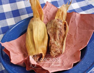 Tamal de frijol definicin culinaria  Larousse Cocina