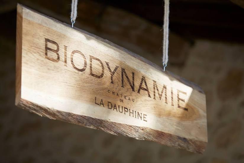 Biodynamie au château de la Dauphine
