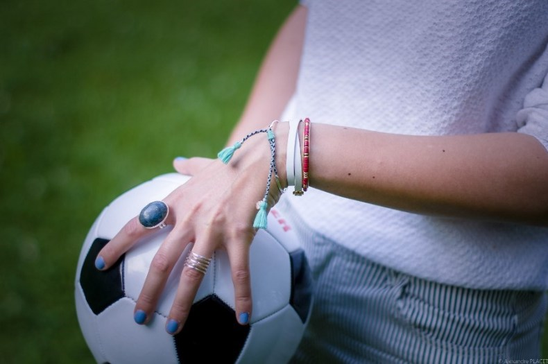 look sporty chic - blog mode lyon - bracelets stella and dot