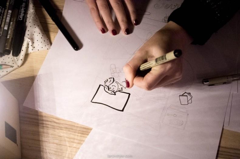 laroxstyle - blog lyon Interview illustratrice Amandine (4 sur 11)