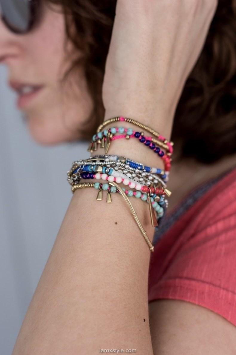 bracelet colores - blog mode lyon