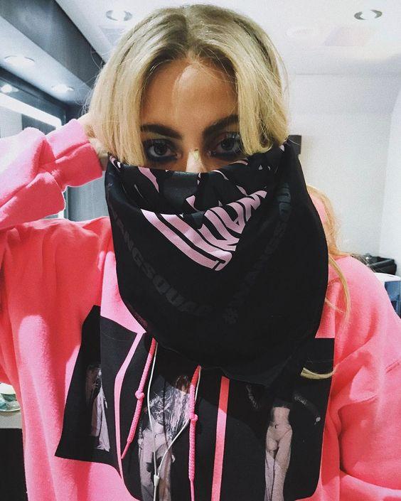 Blog mode lyon laroxstyle top tendance coachella - Bandana instagram lady gaga