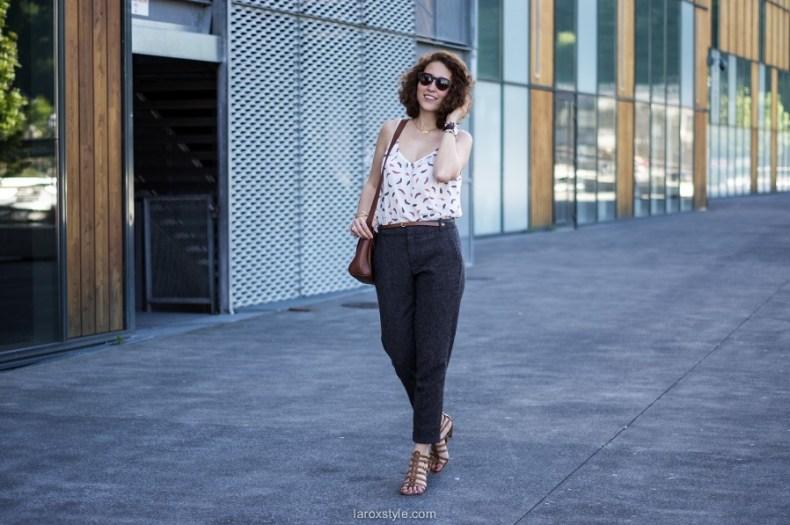 Summer Working Girl - laroxstyle - blog mode lyon