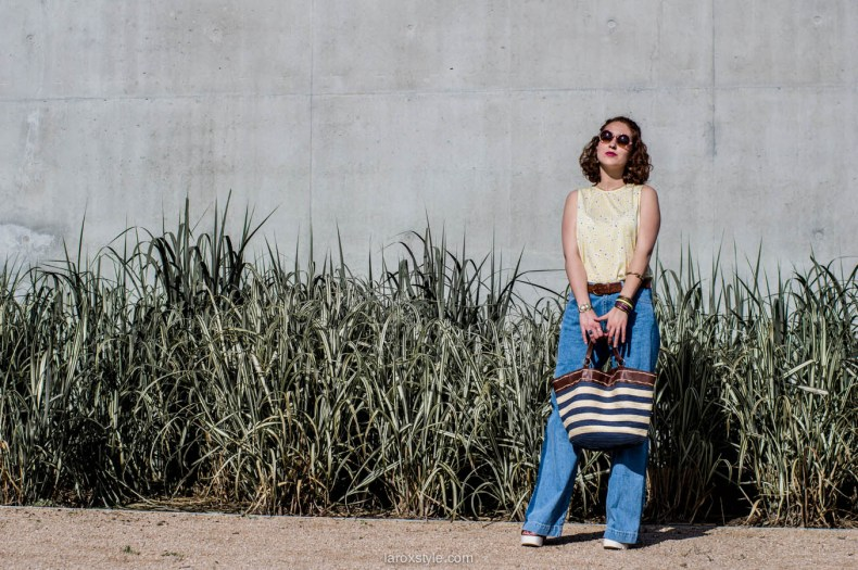 laroxstyle - blog mode lyon - look 70s - pantalon patte d elephant (17 sur 44)