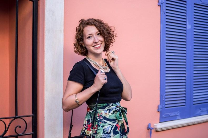 look - jupe femme - look tropical