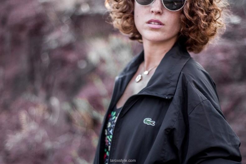 porter la veste lacoste - laroxstyle - blog mode lyon