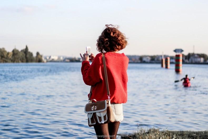 look ete indien - tendance mode rouge - laroxstyle blog mode -23