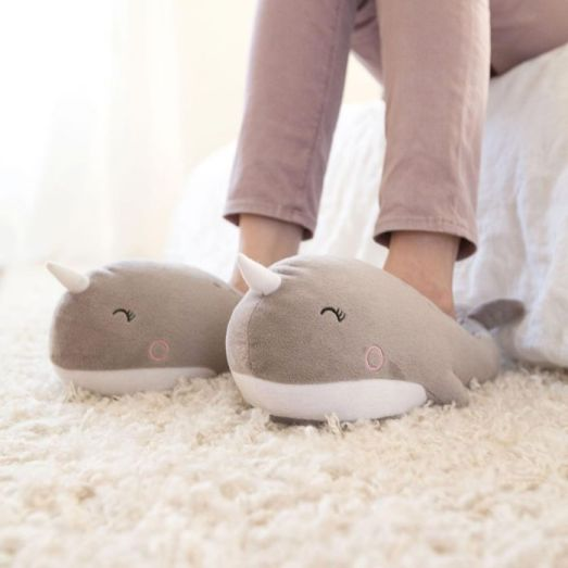 1 idee cadeau - femme cocooning - chaussons chauffants