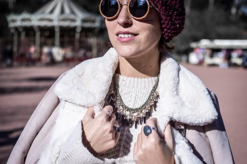 retro look - turban cheveux - pantalon pied de poule - laroxstyle blog mode lyon-7