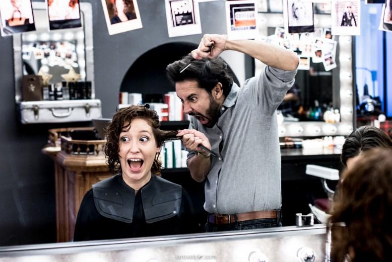 coupe courte cheveux boucles - coiffeur la loge lyon - blog laroxstyle -12
